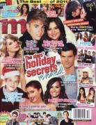 Demi Lovato, Selena Gomez, & Pia Toscano / M Magazine & Tiger Beat (Dec. '11) Scans [x 23]