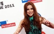 Лена Майер-Ландрут, фото 734. Lena Meyer-Landrut 1Live Krone Awards in Bochum, 08.12.2011, foto 734