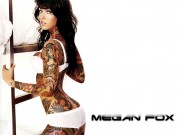 Megan Fox : One 'Fake Tattoo' Wallpaper