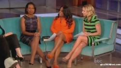 Condoleezza Rice---legs--dress--06.12.2011--abc--USA