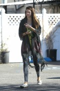 Shailene Woodley Leaving Yoga Class 1/24/12