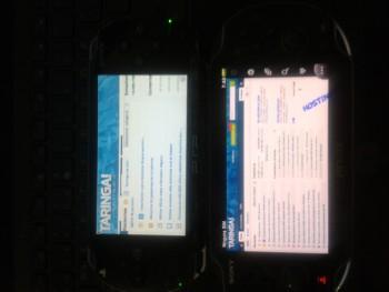 Mi PSVITA contra mi PSP fat