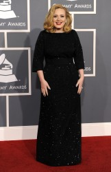 *Adds*Adele @ 54th Annual Grammy Awards in LA February 12, 2012 HQ x 2
