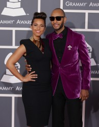 Алиша Киз (Алисия Кис), фото 3060. Alicia Keys 54th annual Grammy Awards - 12/02/2012 - Red Carpet, foto 3060