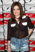 Люси Хейл, фото 571. Lucy Hale Launch of Converse's new West Coast Flagship Store in Santa Monica - February 15, 2012, foto 571