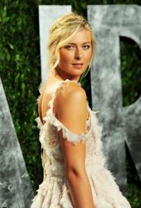 Мария Шарапова, фото 6383. Maria Sharapova 2012 Vanity Fair Oscar party - 26.2.2012, foto 6383