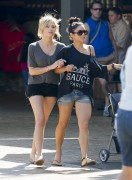Эшли Бенсон, фото 389. Ashley Benson at Busch Gardens in Tampa Bay 03/03/12*with Vanessa Hudgens, foto 389,