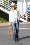 Джули Бенц, фото 1150. Julie Benz leaving Mauros Cafe in Melrose - March 3, 2012, foto 1150