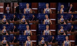 Dianna Agron - Jimmy Kimmel [04-12-12] (720p)