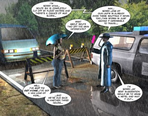 3D Comic Chaperone 1