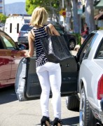 Mena Suvari - booty in jeans out and about in LA 06/23/12
