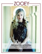 Kristen Bell - Zooey magazine August/September 2012 issue