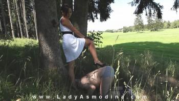 Young Sadistic Mistress Lady Asmodina – Punishing Forest 2